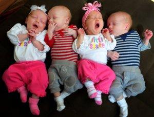 Honey I Doubled the Kids/Jeff Siner/Charlotte Observer